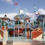 Kids area of waterpark