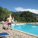 2nd pool @ Le Casette