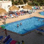 Pool near the restaurant