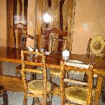 The loevely dining room
