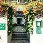 Entrance to Hotel Jäger