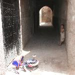 passage way near riad