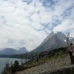 St Mary's Lake in Glacier National Park