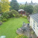 Large garden at rear with pleasant views of Bath