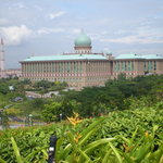 Prime Minister Office view from Putra Perdana Park