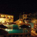 Pool View (night)