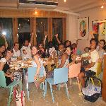 Iriwa Guests out for dinner