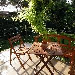 Private Garden Balcony