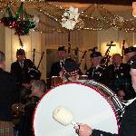 New Years Day at The Queens Head with Rothbury Poipe Band