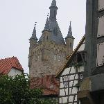 A medieval tower in Bad Wimpfen