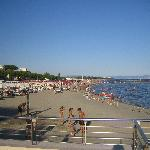 The beach in Grado