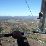 View from Microlight