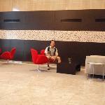 Hamilton Hotel lobby - another angle