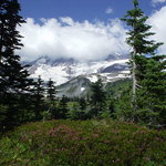 A hike at Mt. Rainier