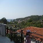 View from room 3 balacony