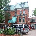McGee's Inn, (our silver van)
