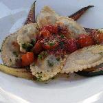 Ravioli-unusually great vegetarian pasta & vegetables for Switzerland