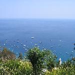 View from Gran Duca restaurant