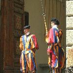 Palais Papal de Castel Gandolfo - Les gardes suisse