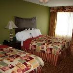 Bedroom area - 2 Queen Beds