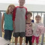 Kids out on the veranda