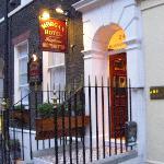 Entrance on Bloomsbury Street