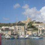 View from Gozo Harbour