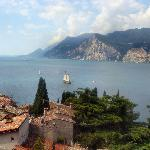 View From Malcesine Castle
