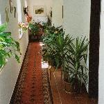 Hallway in Gashof Badl