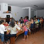 La cena di Ferragosto, a lume di candela