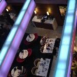 Il ristorante visto dall'alto