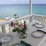 Dining room by the sea - make ressie and ask for table cloth!