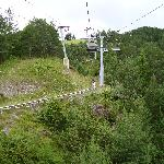 Chairlift and track view 2