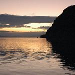 tramonto a baja camp