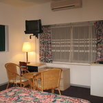 a room from the Residence Inn Hotel in Paramaribo