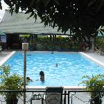 The pool in Residence Inn Hotel