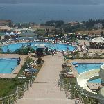 view from water park