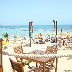 View from the Chill Out Bar on beach