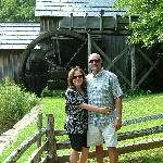 Mabry Grist Mill on the Blue Ridge Parkway. A nice drive from the Sobotta