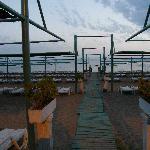 Beach Club At Dusk