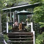 北軽井沢の喫茶店