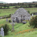 Ireland: co. Mayo - Clew Bay Trail 10: Kilgeever Abbey