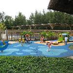playground and kids' pool