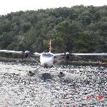 The sea plane from corfu