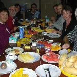 the breafast table!  Bon appetit