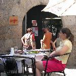 Burgo - outside - entrance