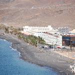 Vue générale de l'hotel