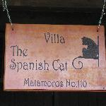 Spanish Cat Sign