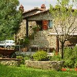 Villa above Arezzo