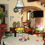 Inside Villa- Dining Room
